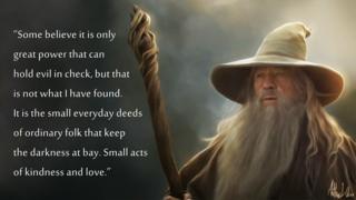 Gandalf-quote